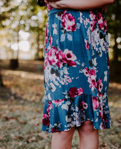 Charlotte Dress in Floral for tweens