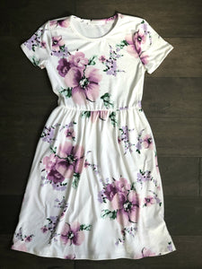 Darby Dress in lavender