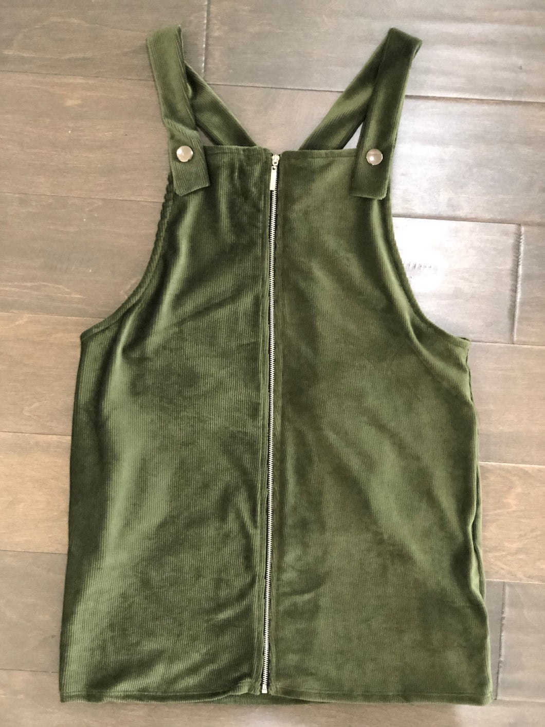 Girls Jumper in Olive
