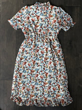 Load image into Gallery viewer, Girls Spring Floral Midi Dress