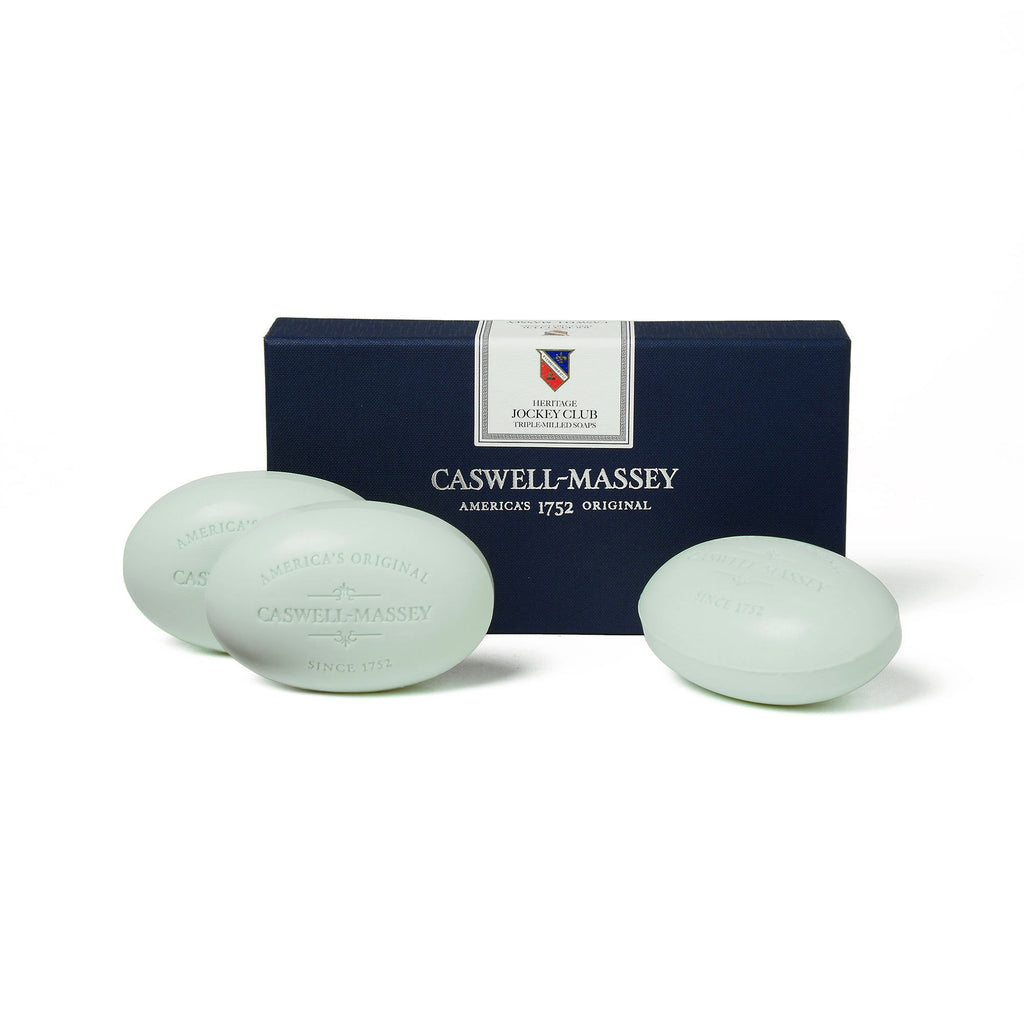 Caswell Massey Jockey Club 3 Soap Set