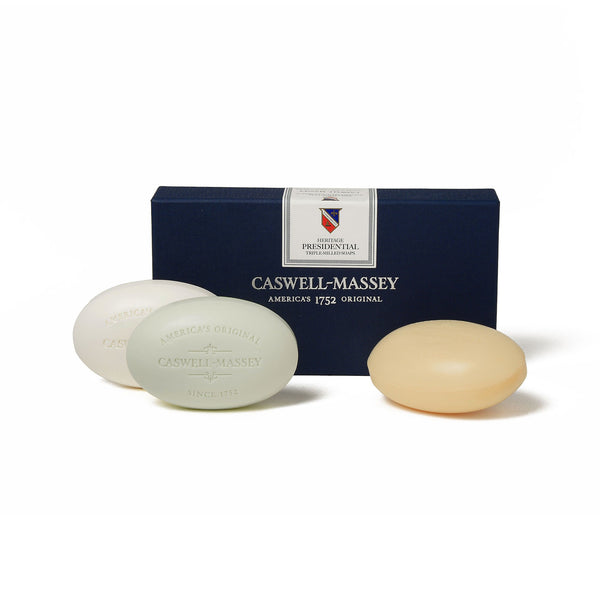 Caswell Massey Presidential Collection 3 Soap Set
