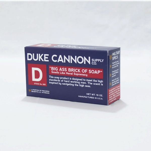 "Duke Cannon Big Ass Brick of Soap ""Smells Like Naval Supremacy"""