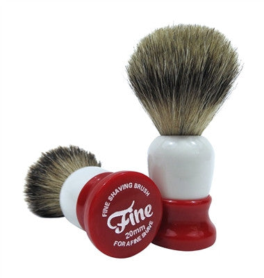 Fine Accoutrements Shave Brush 20mm Super Badger Hair