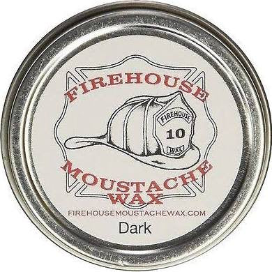 Firehouse Moustache Wax Dark