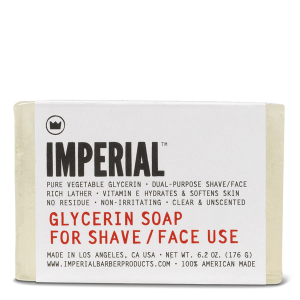 Imperial Glycerin Soap for Shave / Face Use