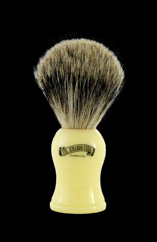 Pure Badger Faux Ivory Shave Brush #907