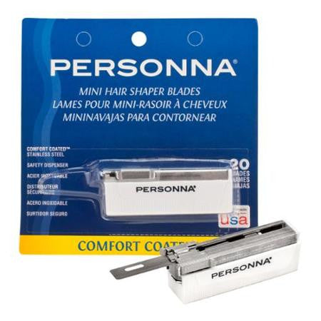 Personna Mini Hair Shaper Blades 20 pack