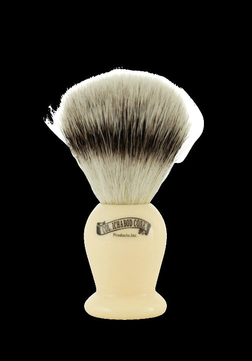 Synthetic Faux Ivory Shave Brush #912