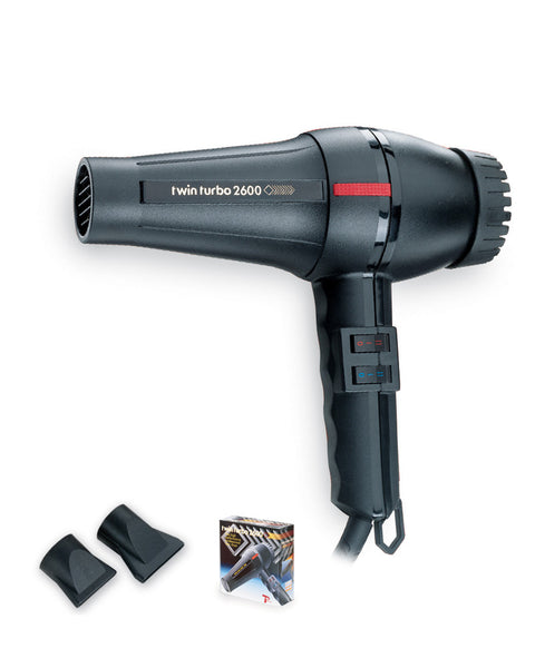 Turbo Power Twin Turbo 2600 Hair Dryer #304