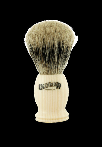 Pure Badger Faux Ivory Shave Brush #1204