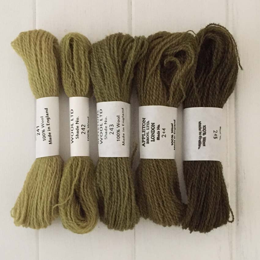 Appleton Wools Olive Green 241-245