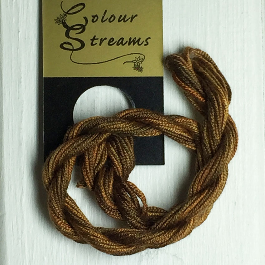 Colour Streams: Silken Strands