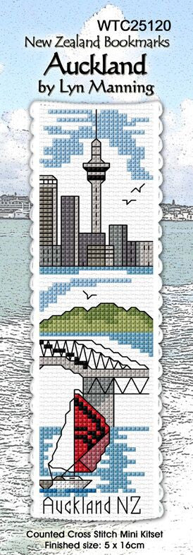 Auckland Bookmark