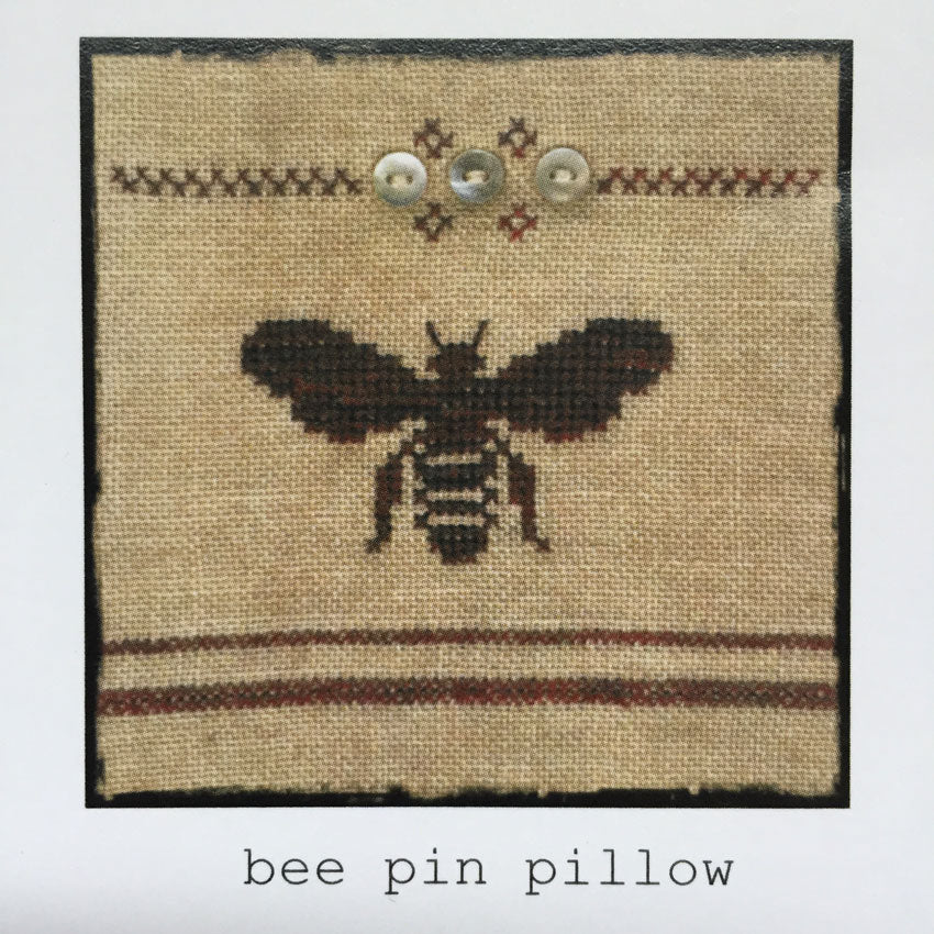 Bee Pin Pillow