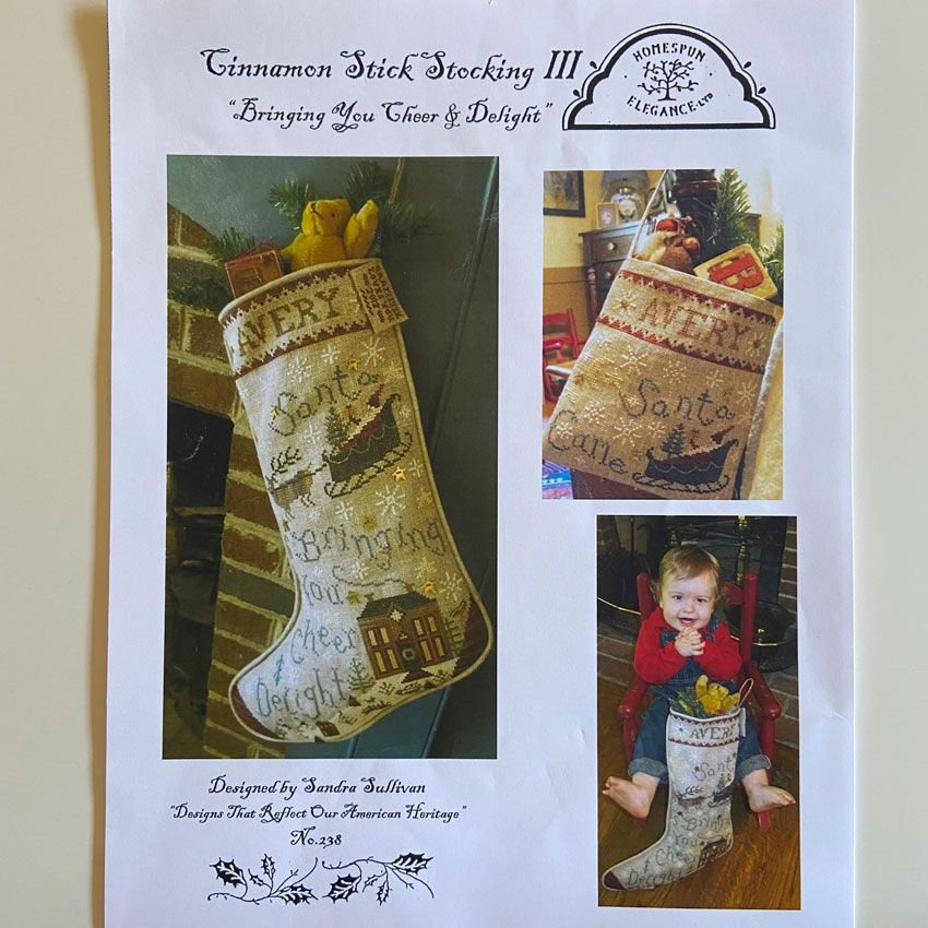 Bringing You Cheer & Delight Stocking