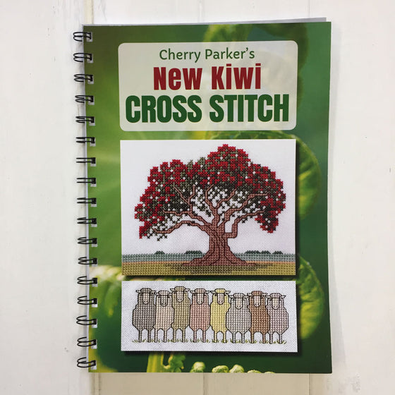 Cherry Parker's New Kiwi Cross Stitch