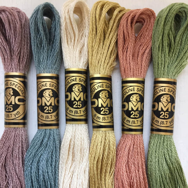 Dmc 6 Ply Stranded Cotton Embroidery Floss The Embroiderer