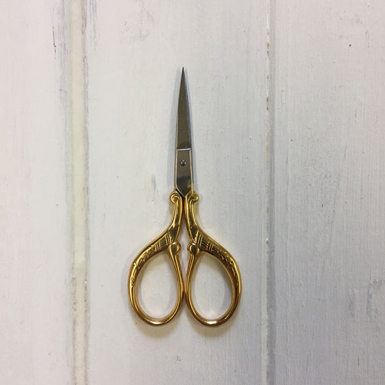 Gold Handled Scissors - Firenze