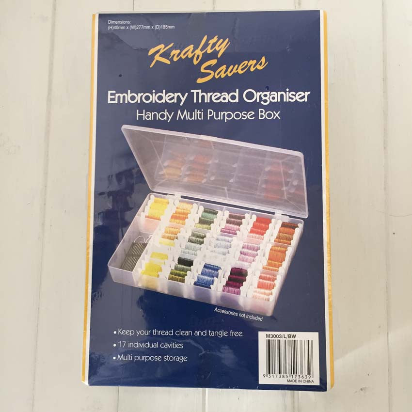 Thread Storage Box The Embroiderer