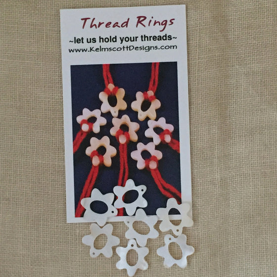 Flower Thread Rings