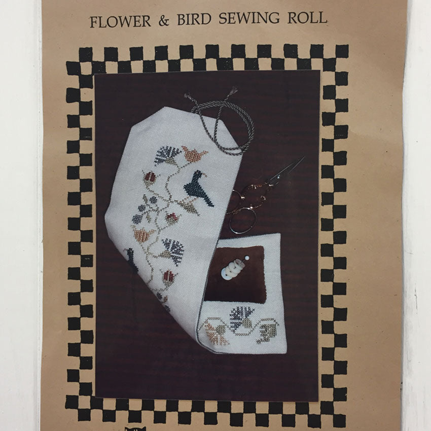 Flower and Bird Sewing Roll
