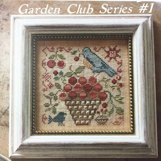 Garden Club Series # 1 - Basket of Cherries