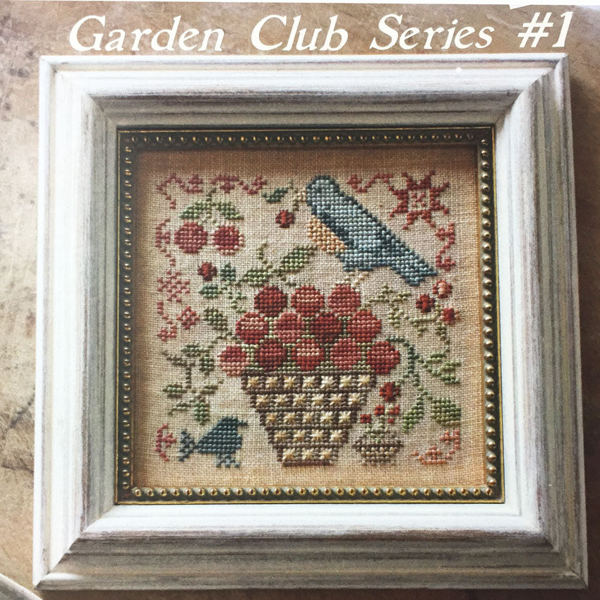 Garden Club Series # 1- Basket of Cherries