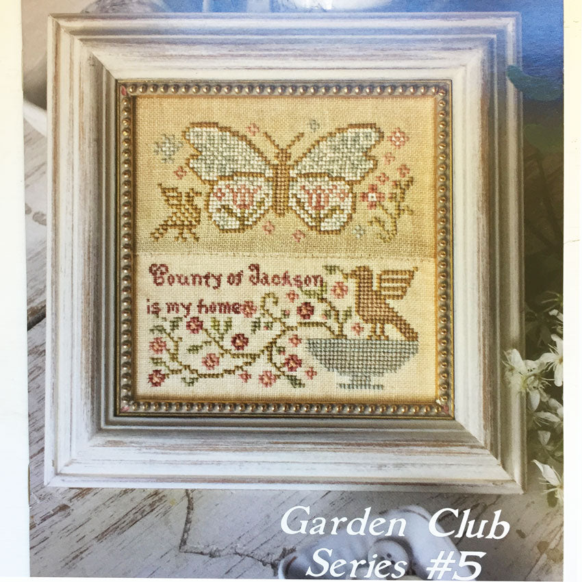 Garden Club Series #5 - Butterfly Garden
