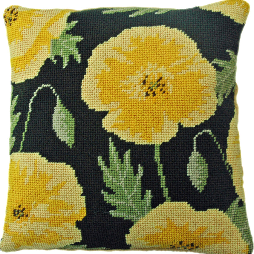 Yellow Pansy Herb Pillow