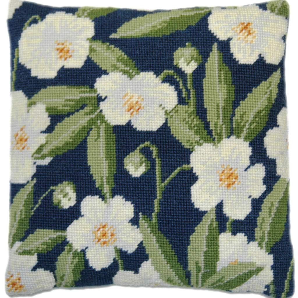Christmas Rose Herb Pillow