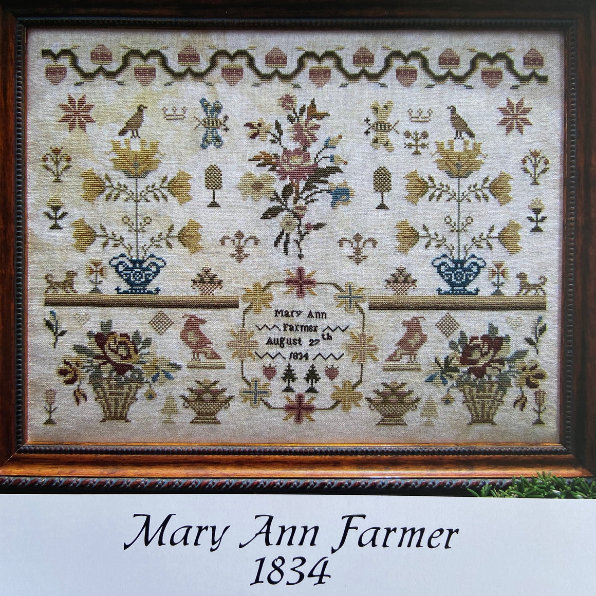 Mary Ann Farmer 1834