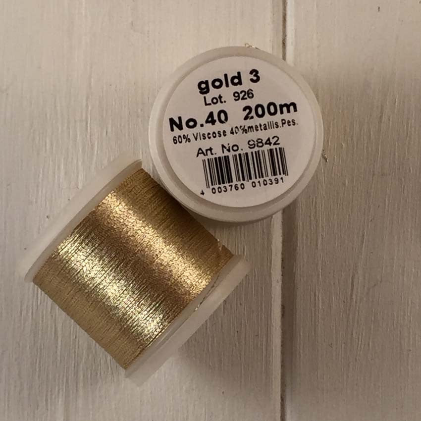 Madeira #40 Metallic Thread