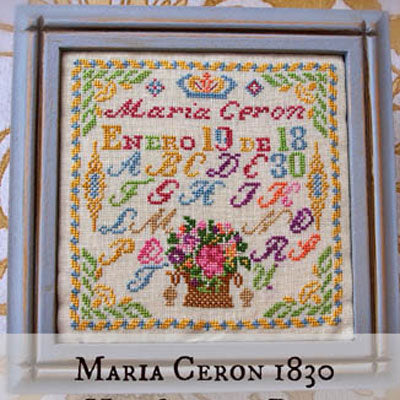 Maria Ceron 1830 Her Sewing Box