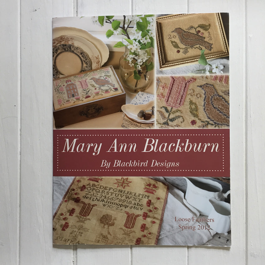 Mary Ann Blackburn Booklet