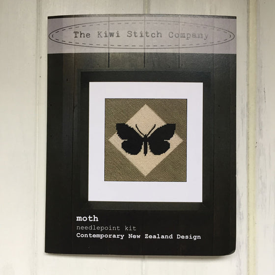 Moth Needlepoint Kit