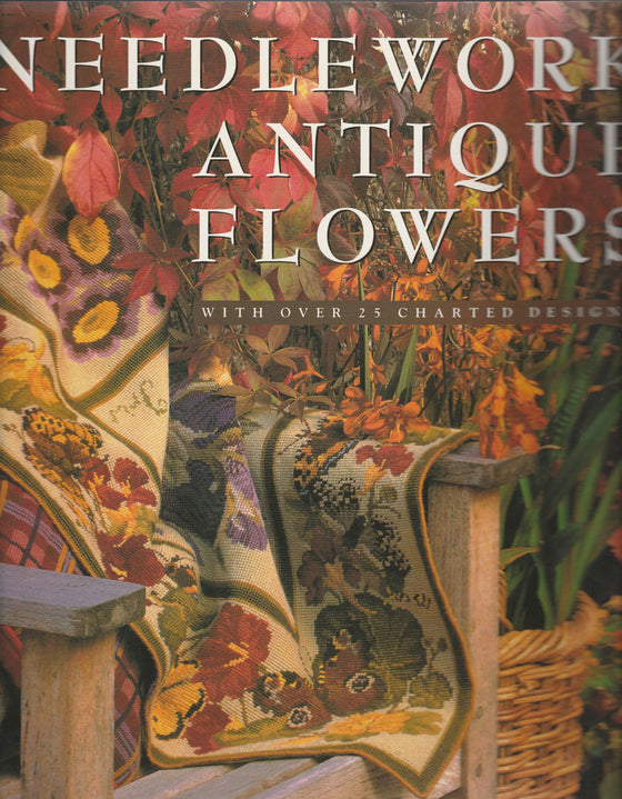 Needlework Antique Flowers