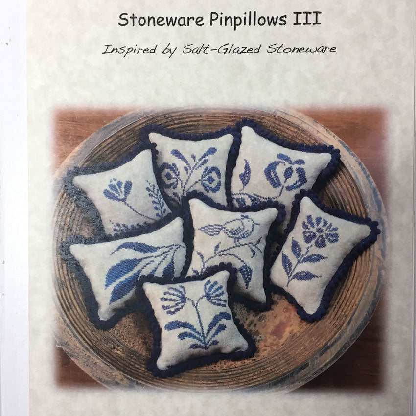 Stoneware Pinpillows III