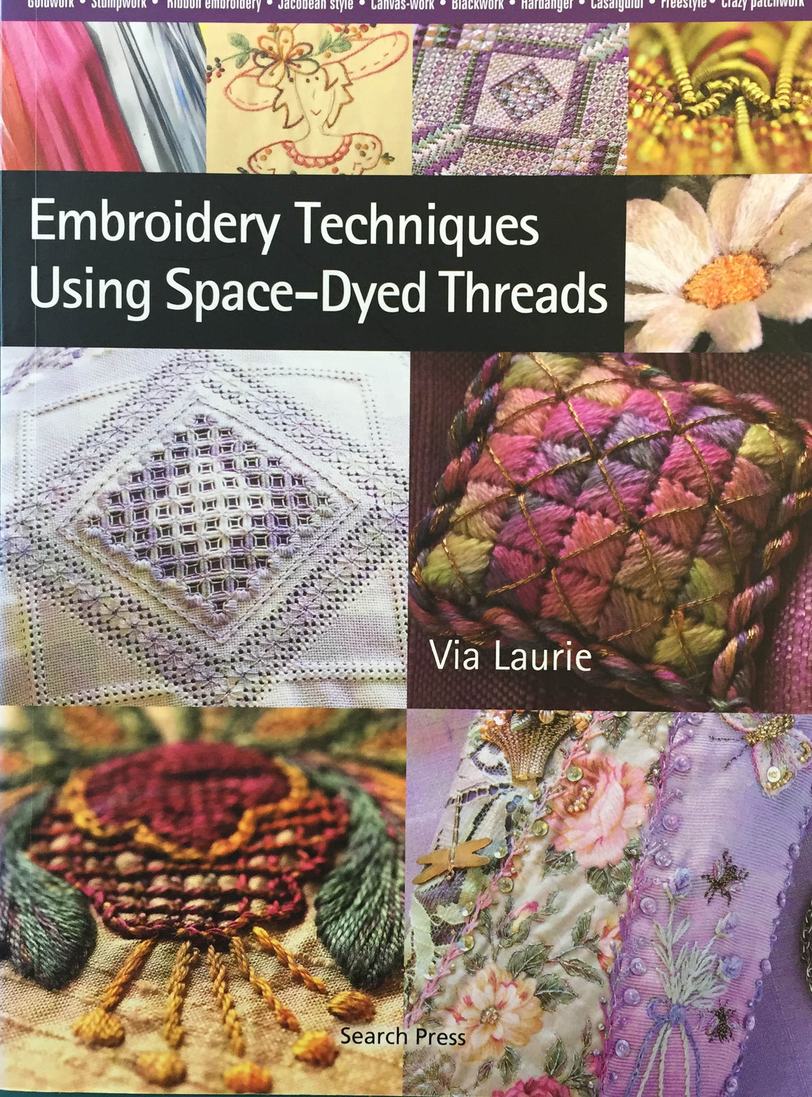 Embroidery Techniques Using Space-Dyed Threads