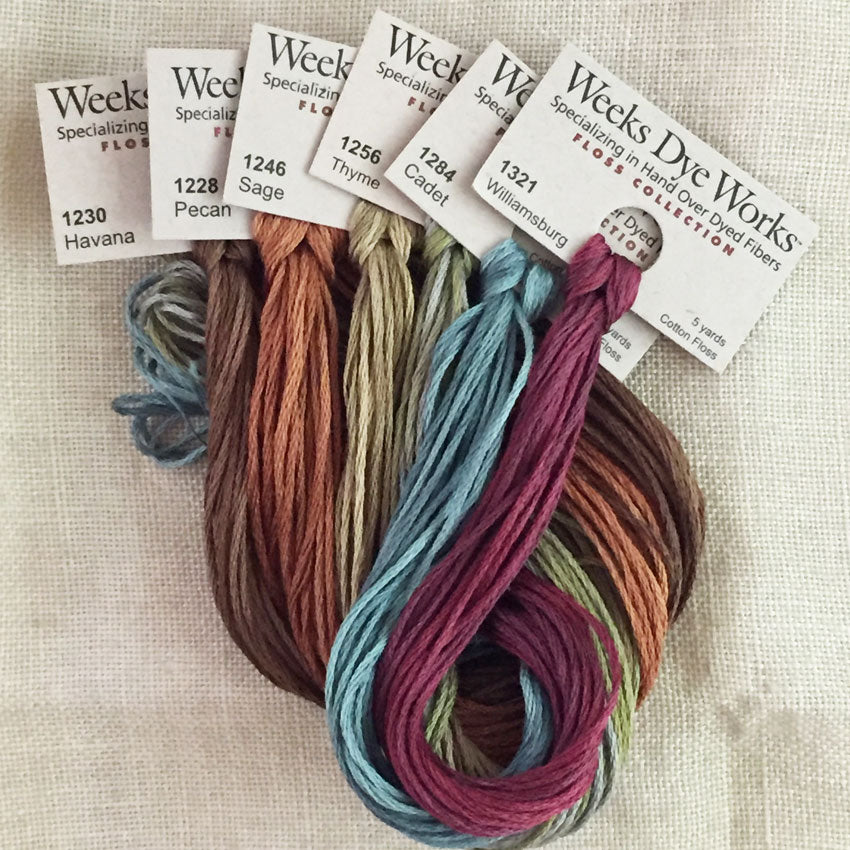 Weeks Dye Works: 6 strand floss