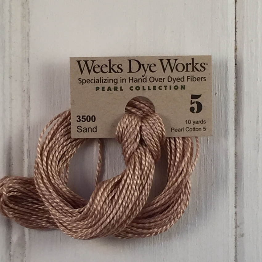Weeks Dye Works Perle 5