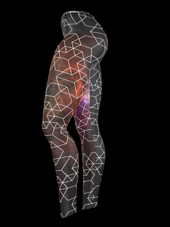 AstralChic leggings side view