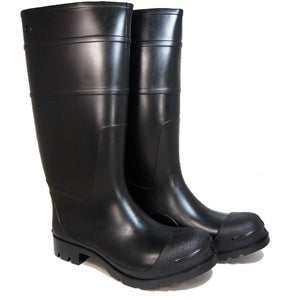 "MEN'S 16"" PVC BLACK BOOT- 07800282"
