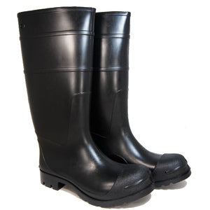 "MEN'S 16"" PVC BLACK BOOT- 07800355"