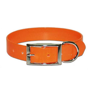 "SUNGLO POLY COATED NYLON HUNT COLLAR - ORANGE 1"" X 21""-08602883"