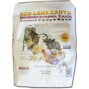 RED LAKE EARTH DIATOMACEOUS EARTH 40-LBS FINE GRANULATIONS-08632168
