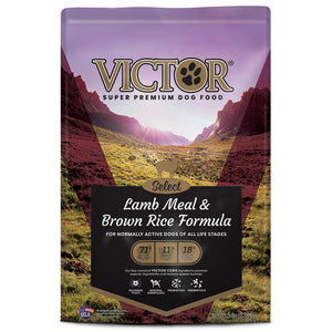 VICTOR LAMB MEAL AND BROWN RICE-DRY DOG FOOD - 40LB-08632344