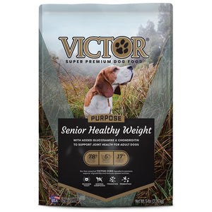 VICTOR SENIOR HEALTHY WEIGHT DRY DOG FOOD 15-LB BAG-08632359