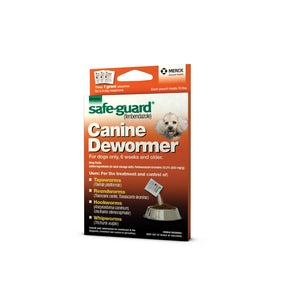 SAFE-GUARD CANINE DEWORMER FOR 10-LB DOGS, 1 GM 3-PACK-08640312