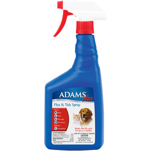 ADAMS PLUS FLEA & TICK SPRAY - 32 OZ.-08642200
